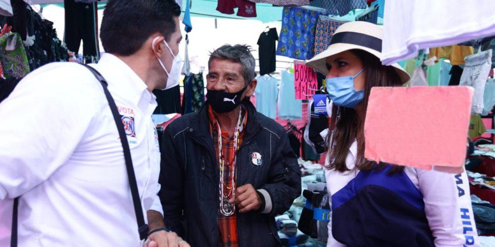 Leo Montañez apoyará a tianguistas