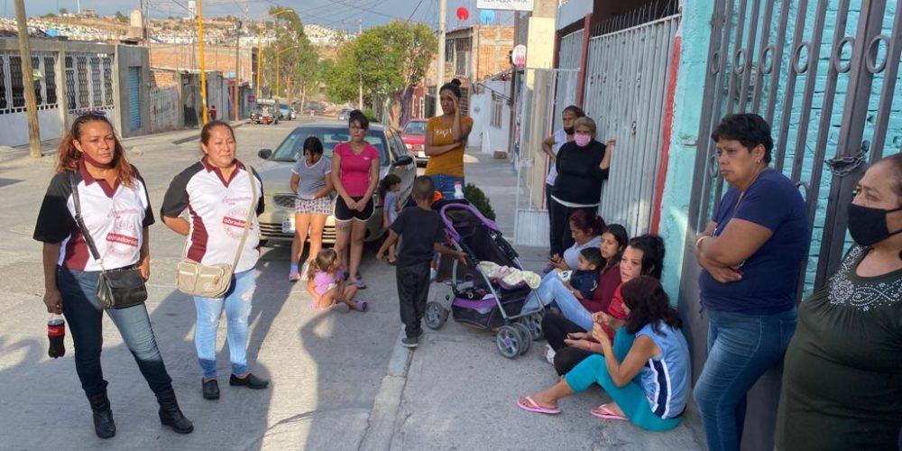 Se reúne candidata de Morena a la alcaldía de Aguascalientes con vecinos del Palomino Dena