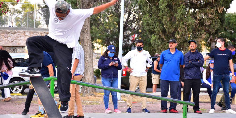 Leo Montañez trabajará con los jóvenes en materia de recreación y deporte