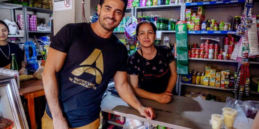 Ricardo Franco apoyará a los micro y pequeños negocios