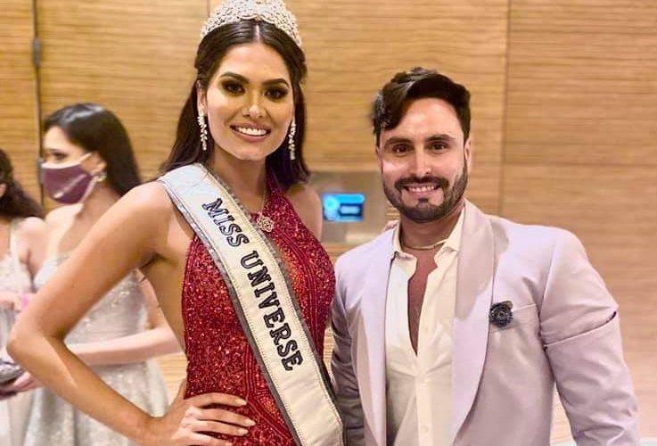 Aguascalentense detrás de preparación de Miss Universo