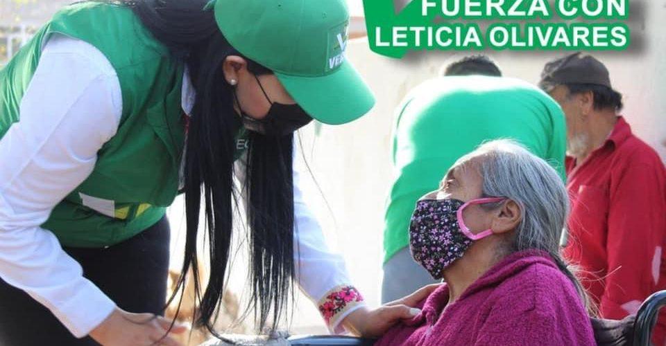 Muestran apoyo a propuestas de Leticia Olivares en Alamitos y Barrancos