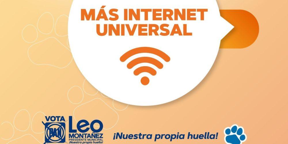 Leo Montañez llevará Internet gratuito a más espacios públicos