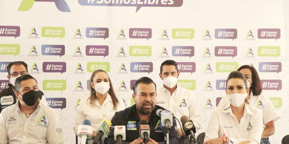 Candidatos a diputados del Partido Libre obtienen buena aceptación en Aguascalientes