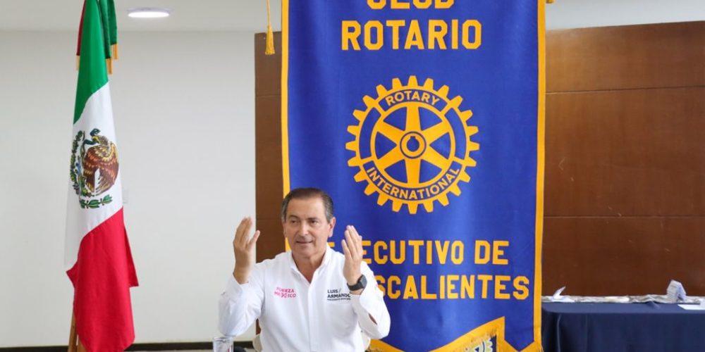 Acude LARF a debate de candidatos organizado por el Club Rotario