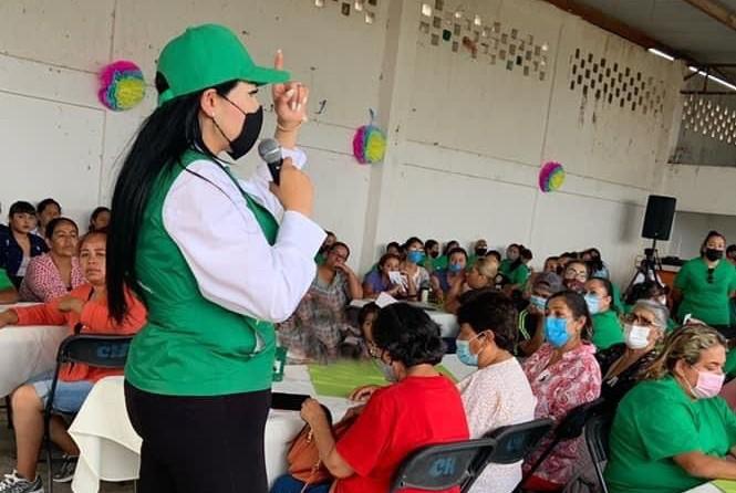 Lety Olivares apoyará a mujeres emprendedoras en Tepezalá