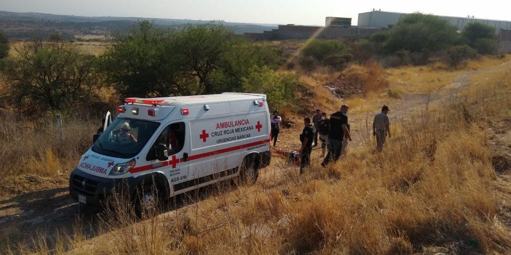 Motociclista se accidenta en Los Arellano