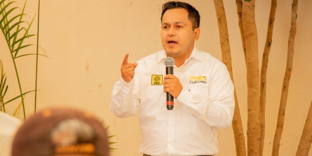 Arnulfo Flores promoverá espacios de diálogo con jóvenes y personas con capacidades diferentes