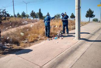 Municipio realiza limpieza en colonias y comunidades rurales
