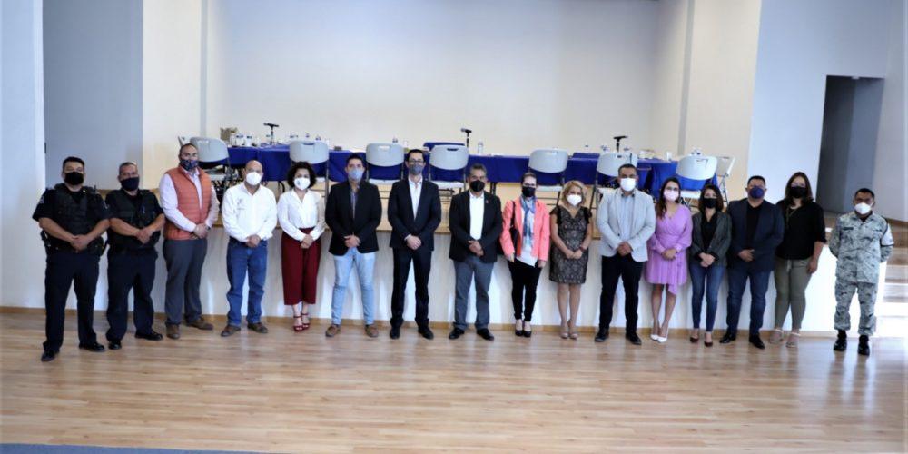 Acuerdan estrategia de seguridad para el proceso electoral en Aguascalientes