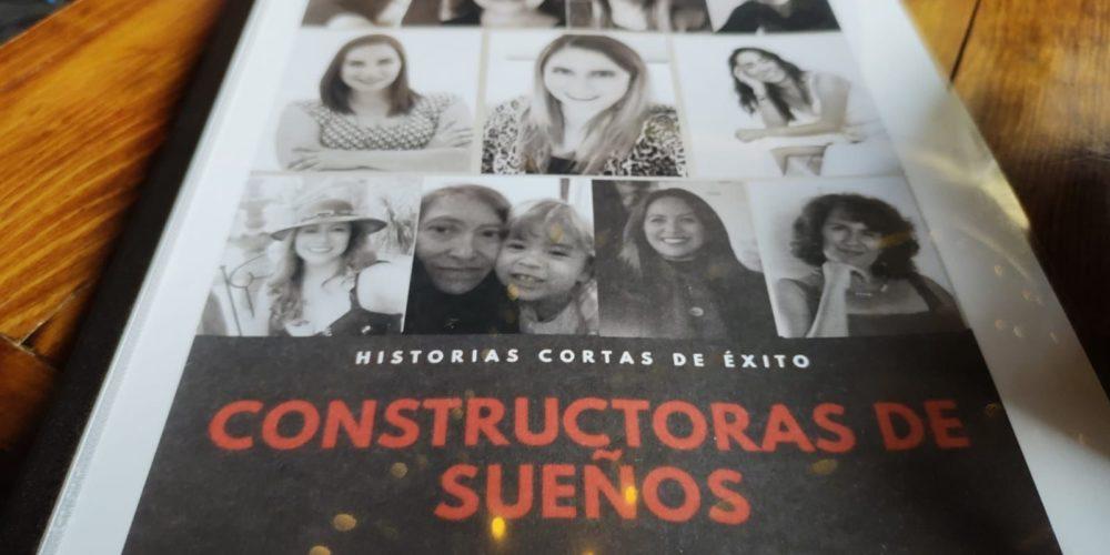 """Presenta Angélica Ortega su libro """"Constructoras de Sueños. Historias cortas de éxito"""""""