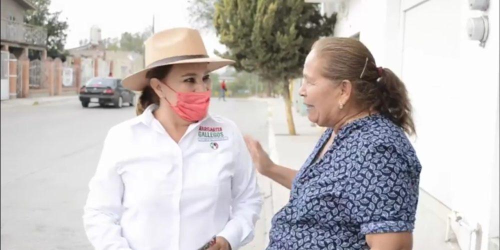 Margarita Gallegos trabajará por el progreso de San Francisco de los Romo