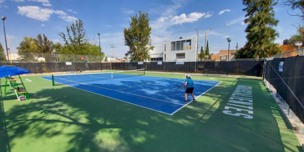 Encuentros de tenis rompen récord de participación en la Copa Aguascalientes