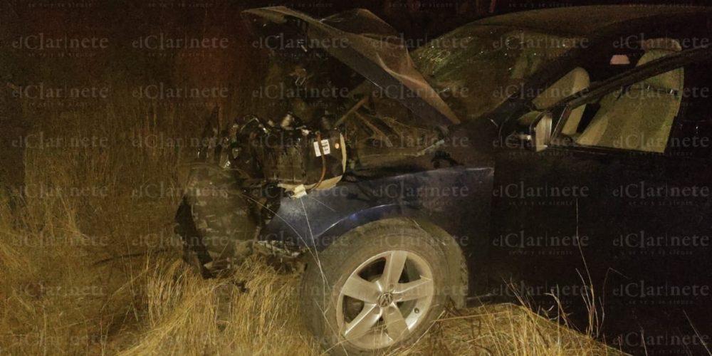 Fallece conductor tras accidente en Cañada Honda