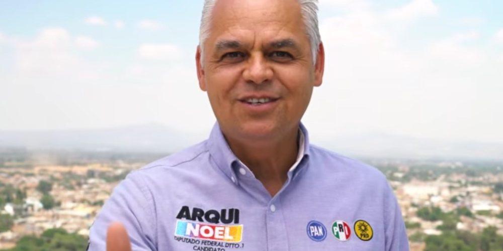 Llama Noel Mata a votar por la coalición Va por México