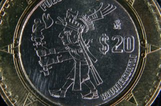 Estas cinco monedas de 20 pesos pueden cotizarse hasta en 35 mil pesos
