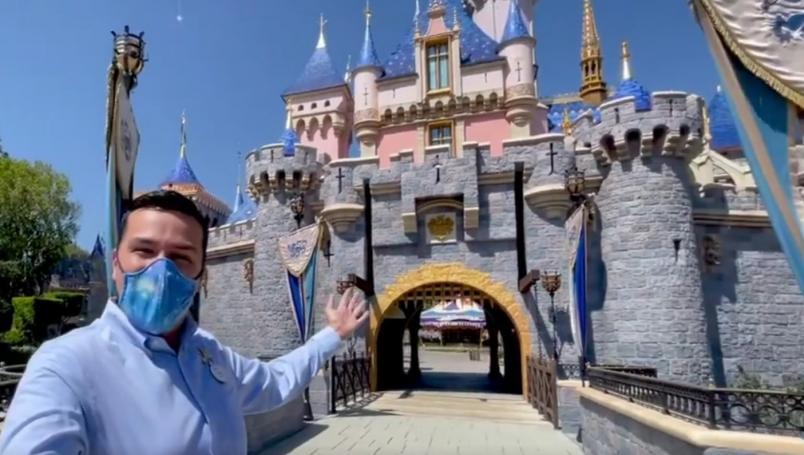 Disneyland vuelve a abrir su puertas tras un año de cierre por coronavirus