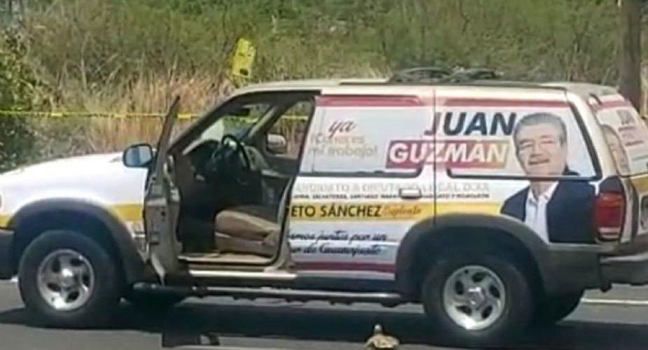 Balean a candidato a diputado del PRD-PRI en Moroleón, Guanajuato