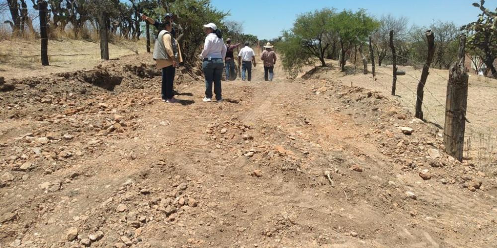 Empresas fotovoltaicas perjudican actividades de ejidatarios en el oriente de Aguascalientes