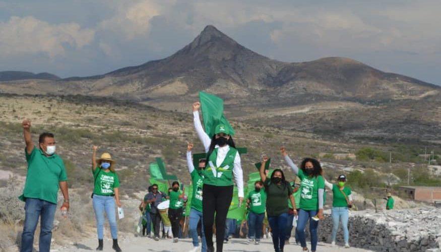 Se compromete Lety Olivares a generar mejores condiciones para Tepezalá