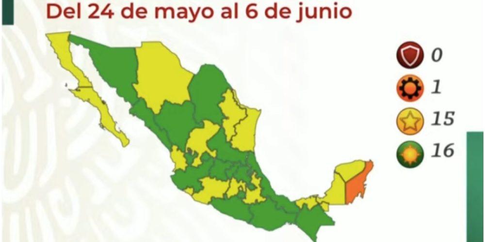 Aguascalientes pasa a semáforo verde, confirma la Secretaría de Salud