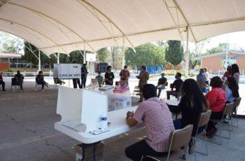 Listo protocolo sanitario para votaciones