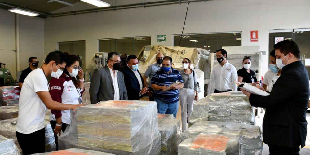 IEE recibe más de 2 millones de boletas electorales