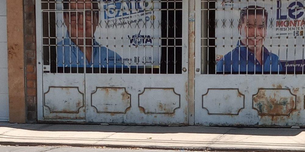 La gente no quiere quitar lonas de sus casas de candidato a diputado panista: Báez