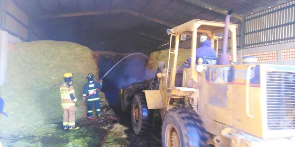 Incendio en bodega de JM deja daños por 40 mil pesos