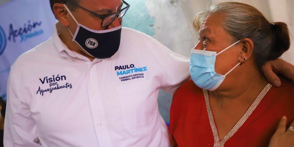 Paulo Martínez compromete trabajo por la seguridad de Aguascalientes