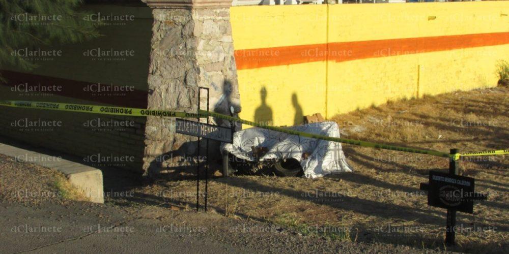 Se mata motociclista en la carretera 70 oriente que conduce a El Llano