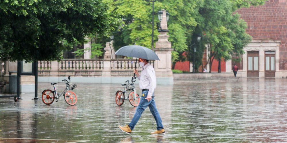 Se esperan lluvias los próximos 4 días en Aguascalientes