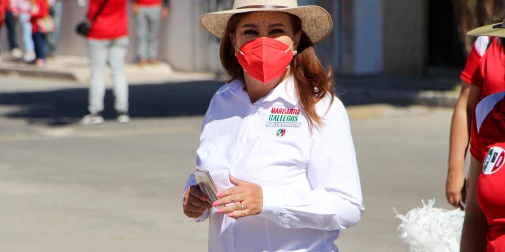 Impulsará Margarita Gallegos a jóvenes deportistas de San Francisco de los Romo