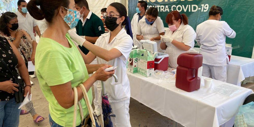 Anuncian vacunación para personas de 50 a 59 años y embarazadas en el municipio capital