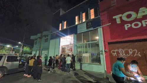 Protestan representantes de casillas de Morena en Aguascalientes por no recibir su pago