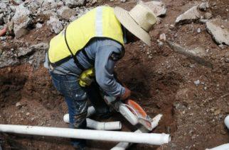 Rehabilita CCAPAMA infraestructura de agua potable en el Cerrito de la Cruz