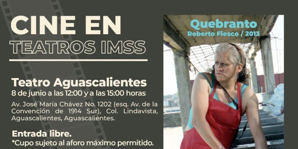 IMSS Aguascalientes invita  a la población al ciclo de cine en sus teatros