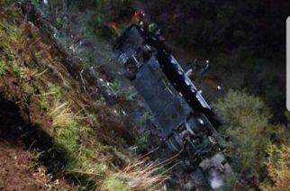 Cae autobús a barranco en Jalostotitlán los pasajeros son de Aguascalientes