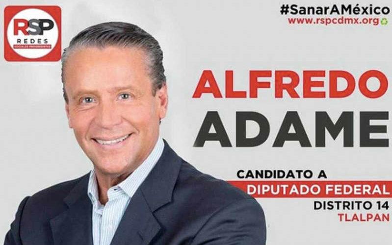 Alfredo Adame obtiene sólo 1 voto en la casilla donde acudió