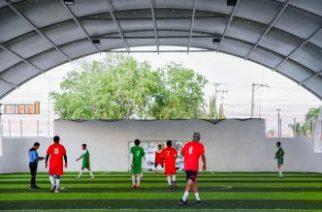 Arrancan partidos de futbol rápido en la Copa Aguascalientes