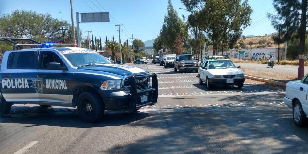 Muere motociclista tras ser impactado por un vehículo en Calvillo