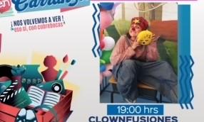"""No te pierdas el show de """"Clownfusiones"""" este domingo en Carranza"""