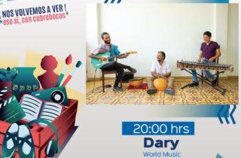 Disfruta de la presentación de Dary en Aguascalientes
