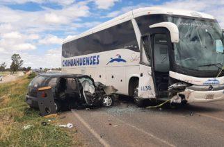 1 muerto y 3 heridos deja choque múltiple en la carretera 70 oriente