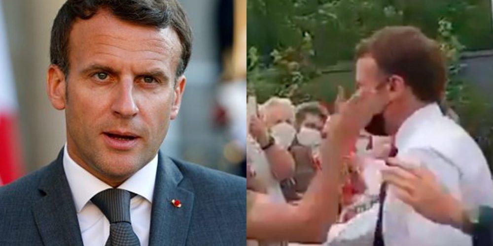 Condenan a prisión a hombre que abofeteó al presidente de Francia