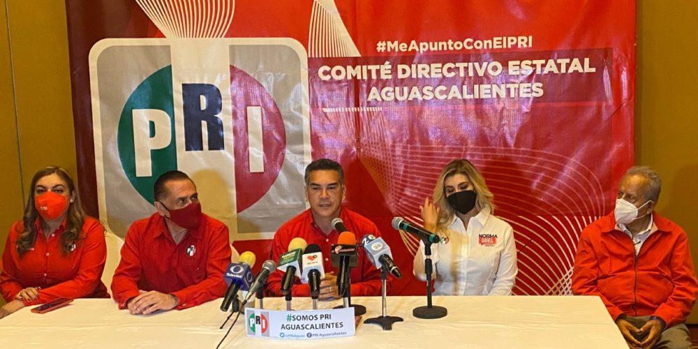 PRI Aguascalientes vive retroceso. CEN abandonó a candidatos: Landín