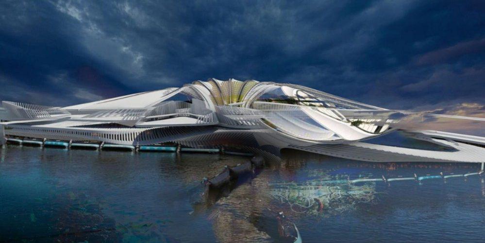Construirán  lujoso resort flotante con desechos plásticos del océano