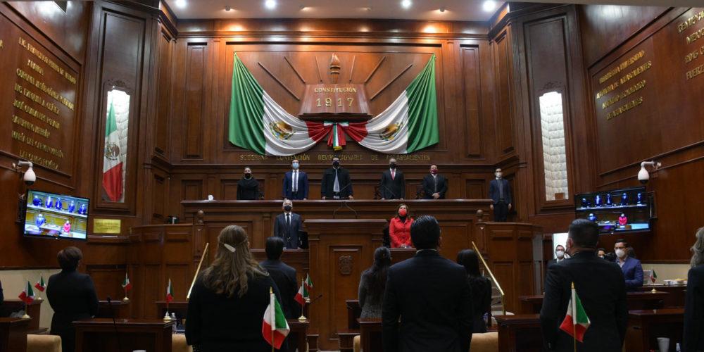 Periodo extraordinario a más tardar para el lunes en el Congreso de Aguascalientes