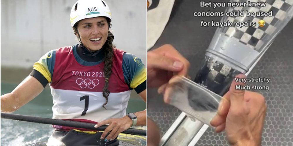 Jessica Fox repara su kayak con un condón y gana medalla de bronce