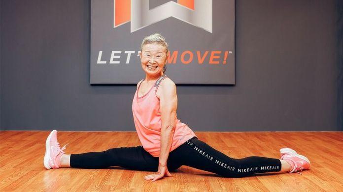 Tiene 90 años y es instructora de fitness